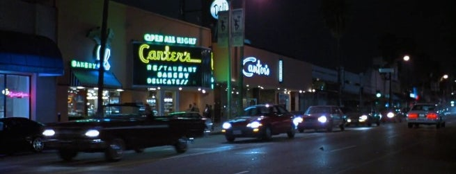 Canter's Delicatessen is one of La-La Land.