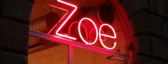 Zoe Bar is one of Florence: Diner.