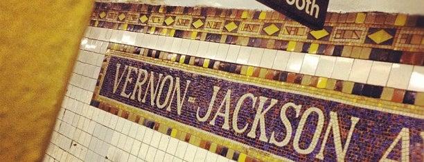 MTA Subway - Vernon Blvd/Jackson Ave (7) is one of IRT Flushing Line (7) <7>.