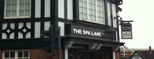 Spa Lane Vaults (Wetherspoon) is one of Orte, die Carl gefallen.