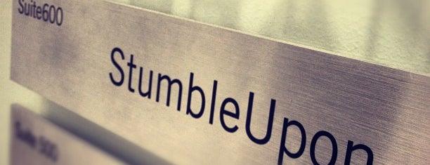 StumbleUpon is one of Tech companies in SF.