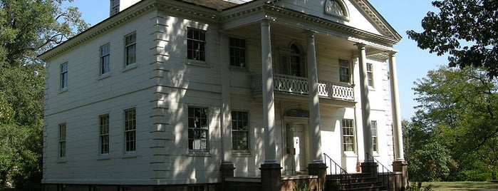 Morris Jumel Mansion is one of OHNY.