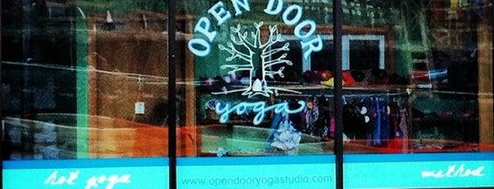 Open Door Yoga is one of NC.