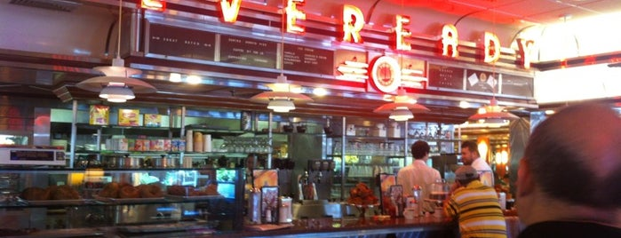 Eveready Diner is one of Diners, Drive-Ins, and Dives.