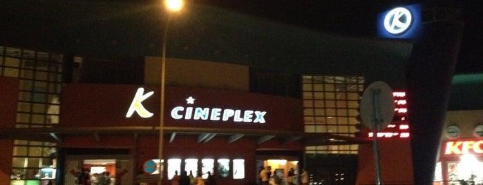 K Cineplex is one of สถานที่ที่ Bego ถูกใจ.