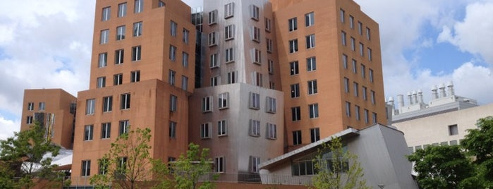 MIT Stata Center (Building 32) is one of 建築マップ.