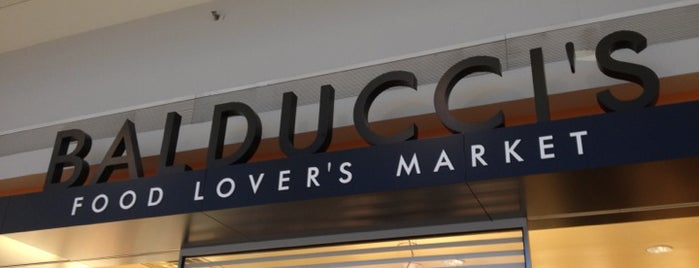 Balducci's Food Lovers Market is one of EWR Terminal C.