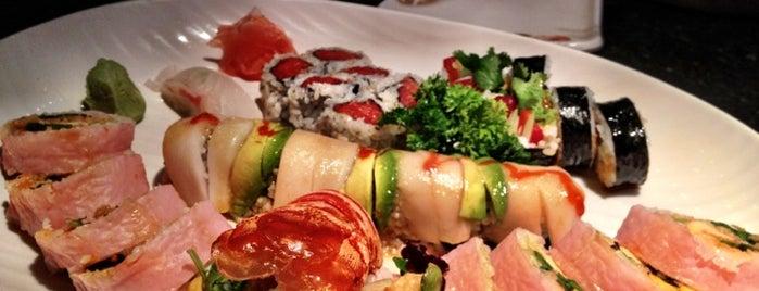 Kyoto Japanese Steakhouse & Sushi Bar is one of Orte, die Delaney gefallen.
