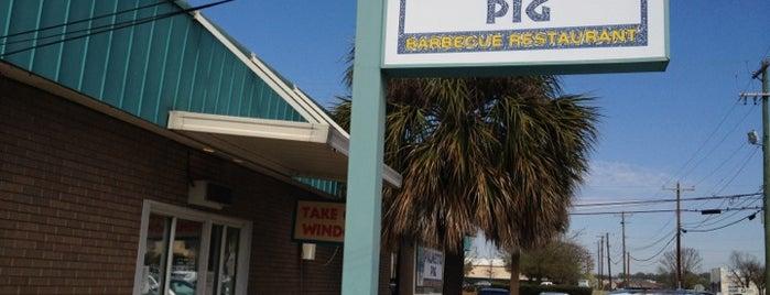 Palmetto Pig is one of Tempat yang Disukai Austin.