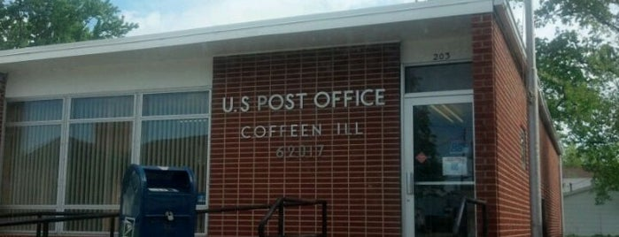 coffeen post office is one of Out and about.