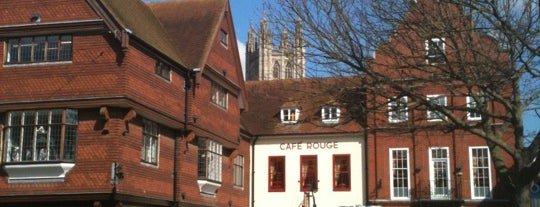 Canterbury High Street is one of England To Do.