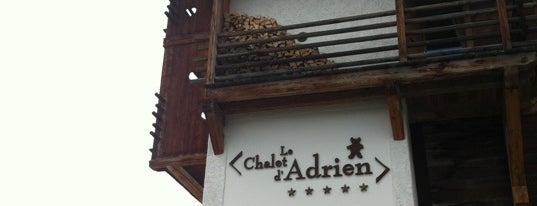 Le Chalet d'Adrien is one of Verbier- Gstaad- Courchevel- Genève.