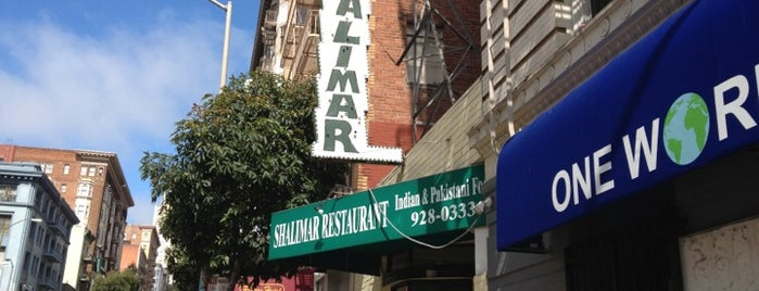 Shalimar is one of Restaurants I've tried.