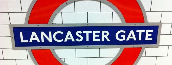Lancaster Gate London Underground Station is one of Underground Stations in London.