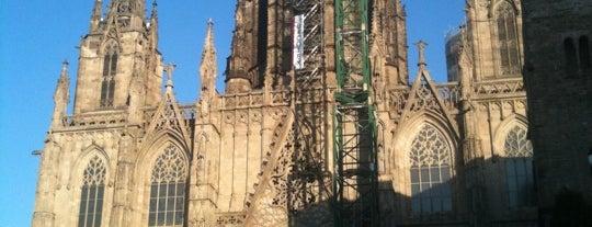 Catedral de la Santa Creu i Santa Eulàlia is one of BCN musts!.