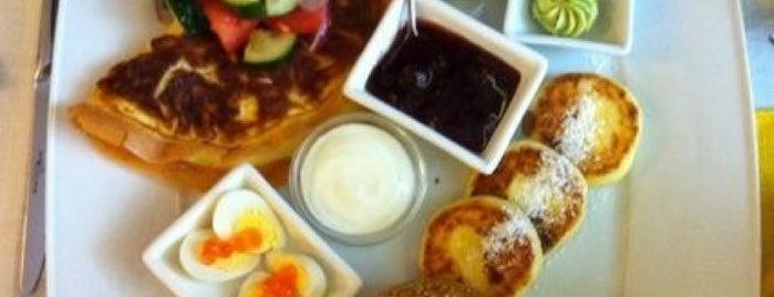 Места для завтраков в Киеве