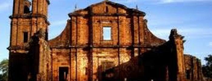 275. Jesuit Missions of the Guaranis: San Ignacio Mini, Santa Ana, Nueatra Señora de Loreto and Santa Maria la Mayor (1984/2003) is one of UNESCO World Heritage Sites in South America.