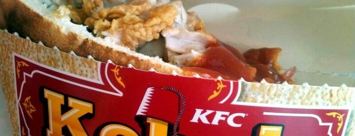KFC is one of Free WiFi v Praze.