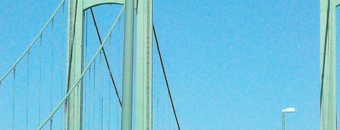 Delaware Memorial Bridge is one of Places that are checked off my Bucket List!.