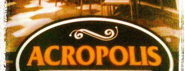 Acropolis Greek Taverna is one of Tampa.