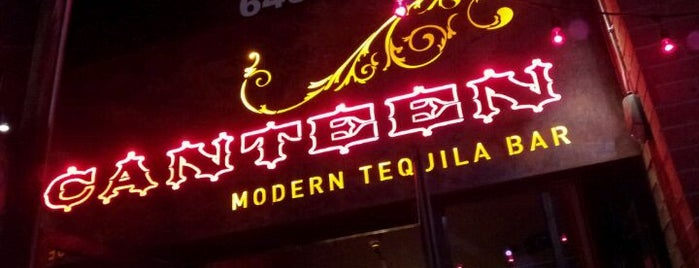 Canteen Modern Tequila Bar is one of Mill Ave District.