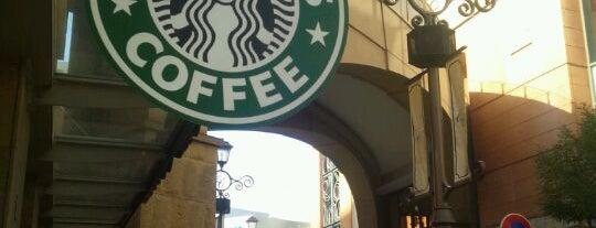 Starbucks is one of Tempat yang Disukai Mycroft.