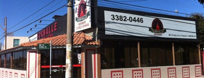 Fornalle Restaurante e Pizzaria is one of Tempat yang Disukai Alexandre.