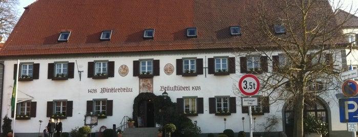 Winkler Bräu is one of Gespeicherte Orte von Tim.