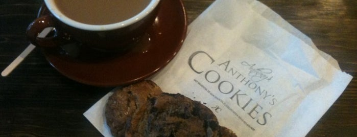 Anthony's Cookies is one of 100 places to eat in SF before you die.