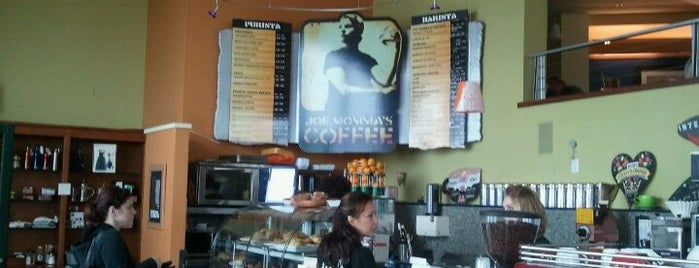 Joe Momma's Coffee is one of breakfast stops.