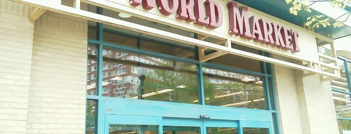 World Market is one of Arlington.