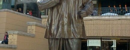 Statue of Nelson Mandela is one of África do Sul.