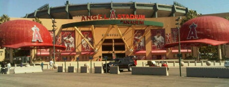 Angel Stadium of Anaheim is one of Great Sport Locations Across United States.