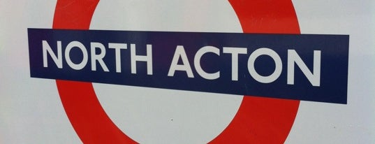 North Acton London Underground Station is one of Underground Stations in London.