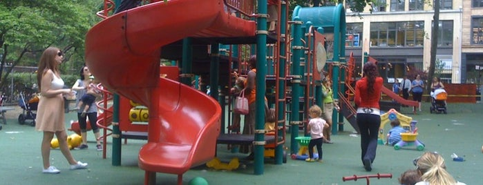 Mercer Playground is one of New York III.