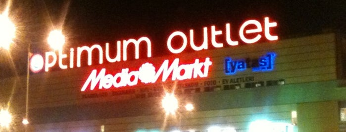 Optimum Outlet is one of Seda 님이 좋아한 장소.