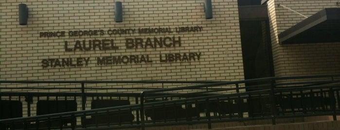 Laurel Branch Library is one of Gespeicherte Orte von NZingha.