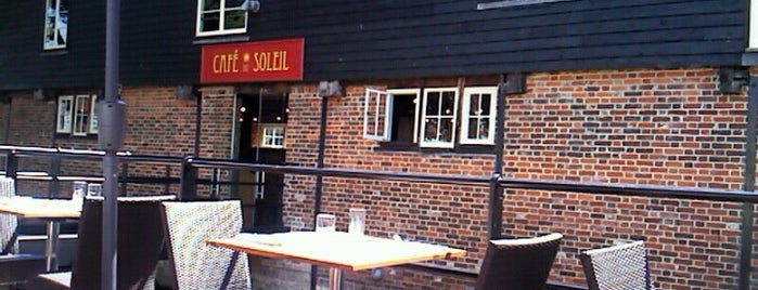 Café du Soleil is one of CANTERBURY 🇬🇧💫💐.