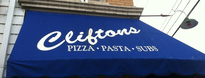 Clifton's Pizza is one of Louisville, ky.