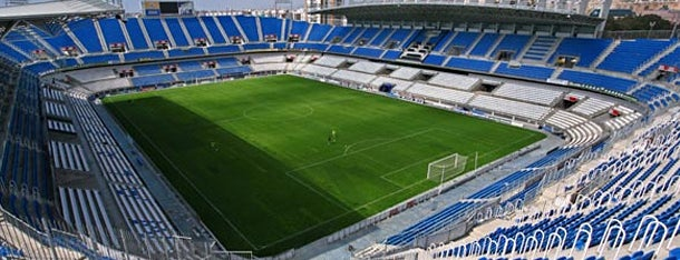 Estadio La Rosaleda is one of 101 cosas que ver en Málaga antes de morir.