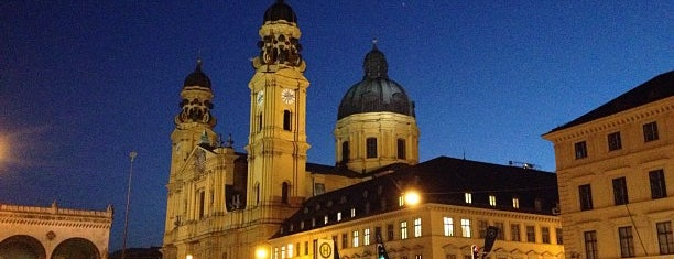 Odeonsplatz is one of Munich - Haidhausen, Max-, Isar- & Ludwigvorstadt.