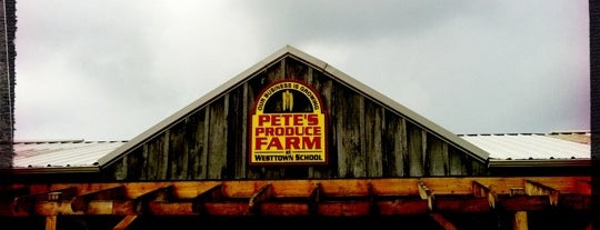 Pete's Produce Farm is one of Philly.