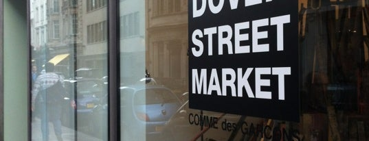 Dover Street Market is one of London shopping..