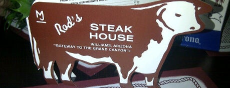Rod's Steak House is one of Historic Route 66.