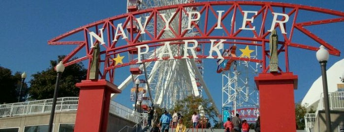 Ferris Wheel at Navy Pier is one of Traveling Chicago.