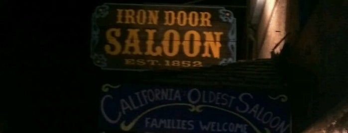 The Iron Door is one of Pacific Old-timey Bars, Cafes, & Restaurants.