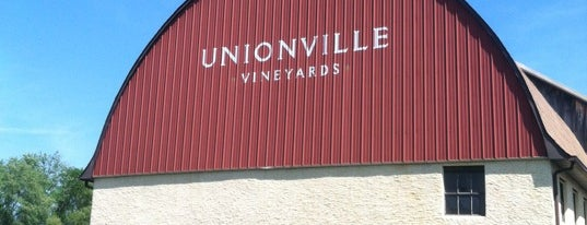 Unionville Vineyards is one of Jersey.