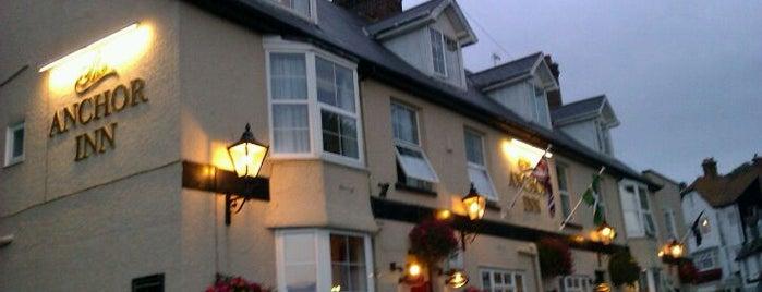 The Anchor Inn is one of UK Restaurants.