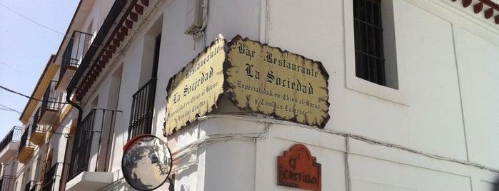Restaurante La Sociedad is one of Restaurantes Málaga 2.