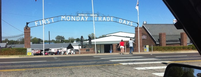 First Monday Trade Days is one of USA 5.